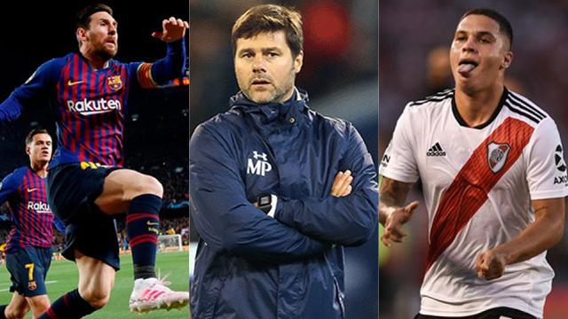 Messi, Pochettino y Quintero, candidatos en los premios The Best.