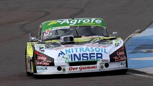 El entrerriano Ayrton Londero ganó su primera carrera en el TC Pista.