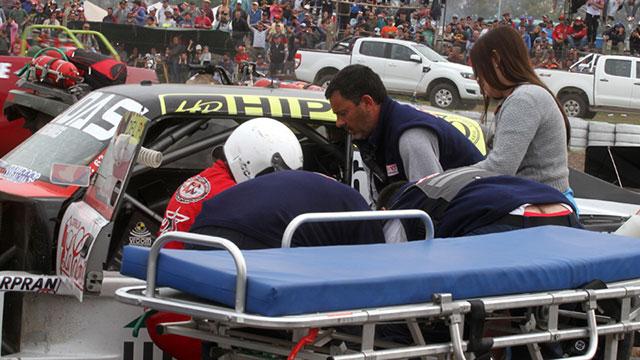 Bonelli sufrió una distención de ligamento interno de la rodilla izquierda.