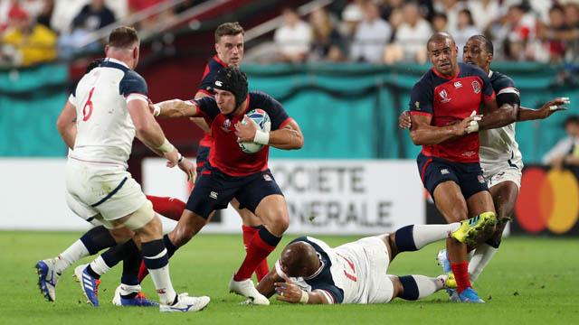 Contundente triunfo de Inglaterra en el Mundial de Rugby.