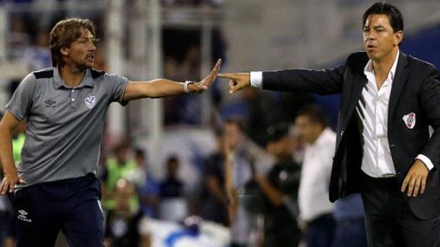 """""""No comparto las opiniones del entrenador de River"""", expresó el Gringo Heinze."""