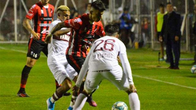 Patronato igualó 1 a 1 ante Lanús. (Foto: Twiter Uno).