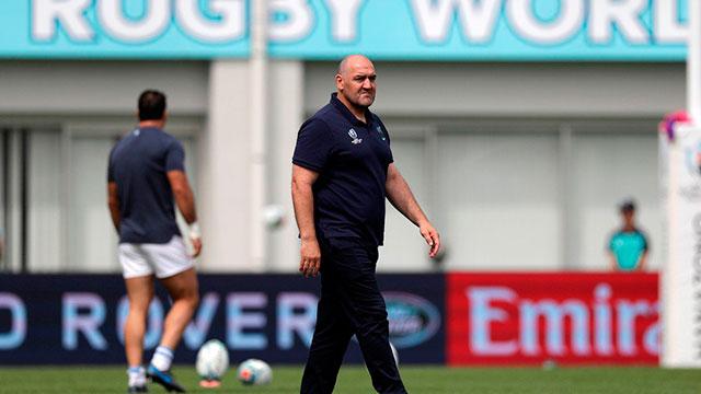 El entrenador de Los Pumas, Mario Ledesma.