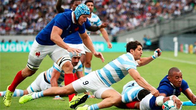 Francia le ganó a la Argentina en su duelo mundialista.