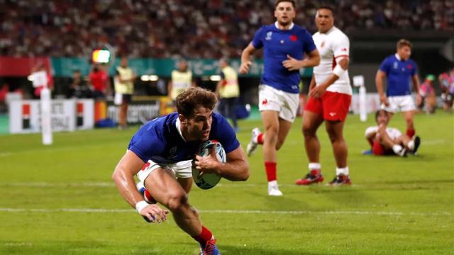 El mundial de rugby se vio afectado por el tifón.