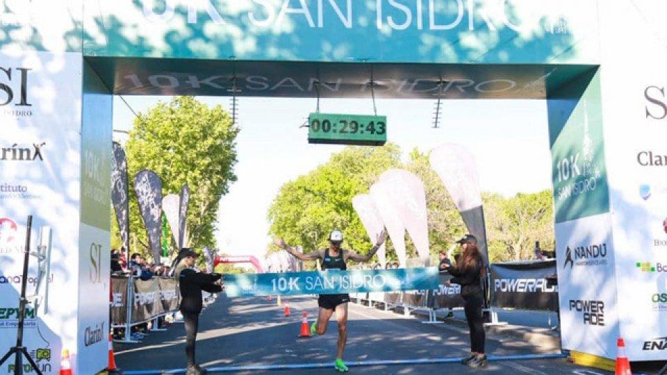 Fede logró por segunda vez consecutiva el primer lugar en lla 10k de San Isidro.