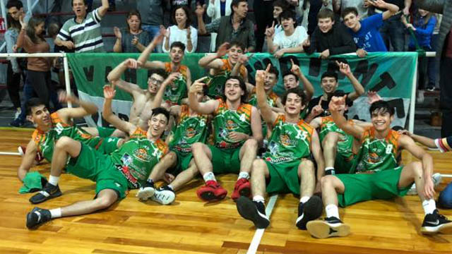 Los pibes del Verde se adueñaron de la Liga Provincial U17.
