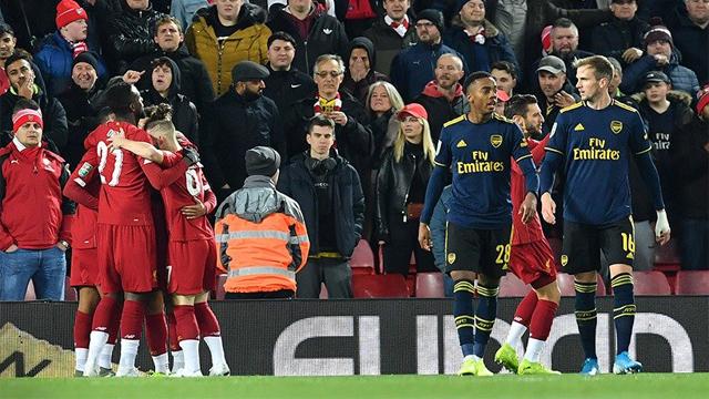 Los Reds y los Gunners jugaron un partidazo con 10 goles en Anfield.