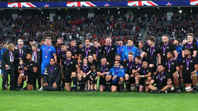 Nueva Zelanda se subió al podio.