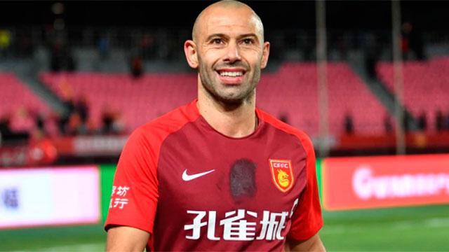 Mascherano y su experiencia en el fútbol chino.