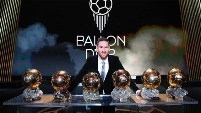 Lio obtuvo el Balón de Oro en 2009, 2010, 2011, 2012, 2015 y 2019.