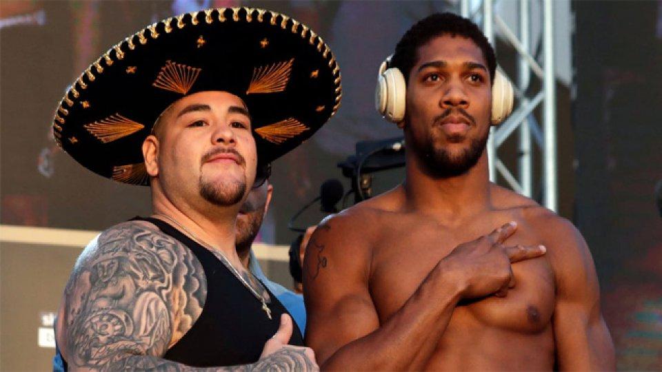 Andy Ruiz y Anthony Joshua volverán a enfrentarse en el Choque de las Dunas.