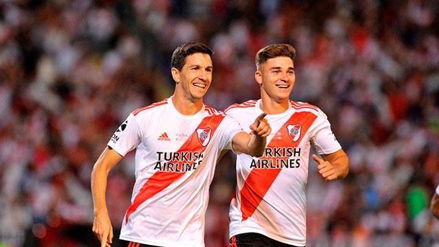 El tercer gol de River y una jugada que marca el estilo Galllardo.