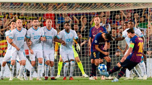 Messi en el Barcelona espera que en algún momento se reanude la Liga española.