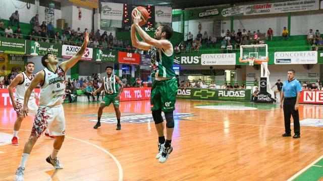 El equipo concordiense cayó en el Gigante ante San Martín.