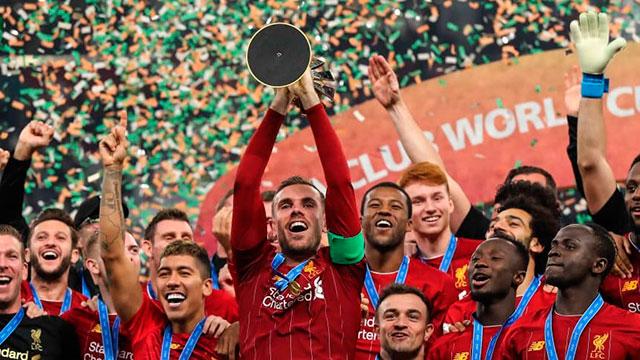 Liverpool tocó la gloria a nivel futbolístico por primera vez en su historia.