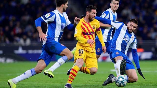 Messi hizo su magia con el balón este sábado.