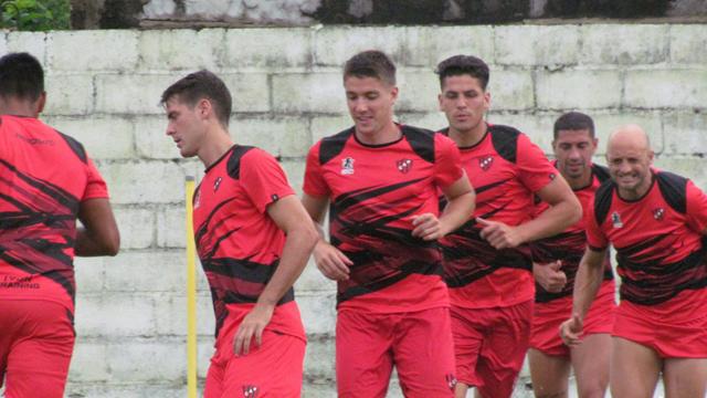 Patronato volvió a moverse con vistas a la reanudación de la Superliga ante Banfield