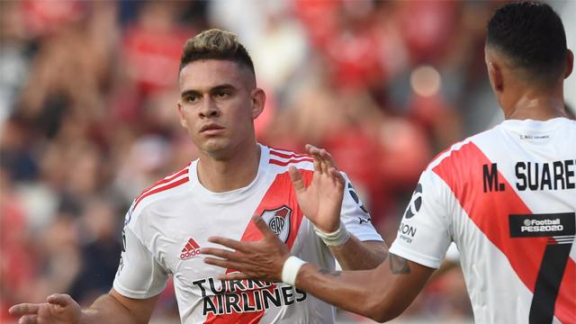 River superó a Independiente por 2 a 1 en Avellaneda y es puntero del campeonato