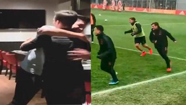 Licha y Taglia forjaron una gran relación en el Ajax de Holanda.