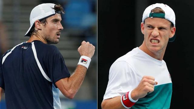 Schwartzman y Pella avanzaron a la tercera ronda del Abierto de Australia.