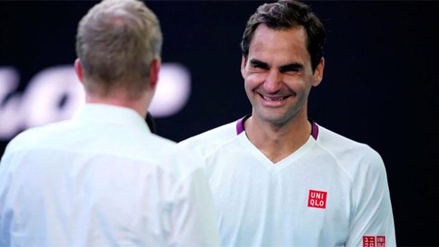 Federer levantó siete match points y pasó a las semifinales en Australia.