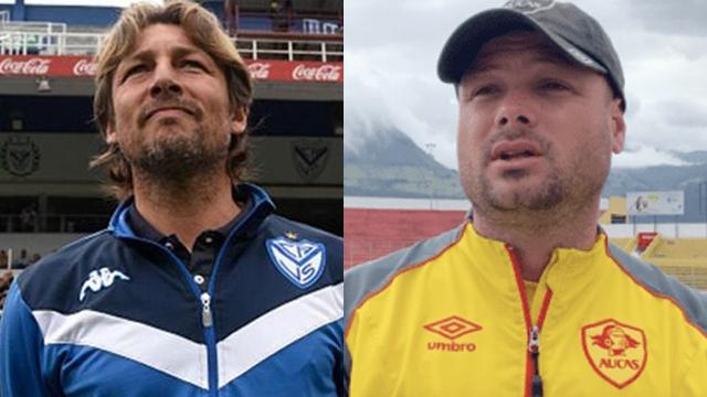 """""""Me declaro admirador del trabajo de Heinze"""", expresó el entrenador de Aucas."""