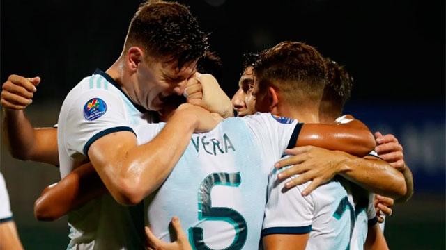 Argentina mantiene el invicto en el Preolímpico con cinco victorias al hilo.