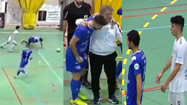 El gesto de Rodríguez fue reconcocido por sus rivales y dio la vuelta al mundo.