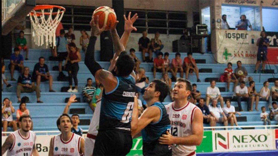 Echagüe sufrió una dura derrota de local ante San Isidro. (Prensa AEC)