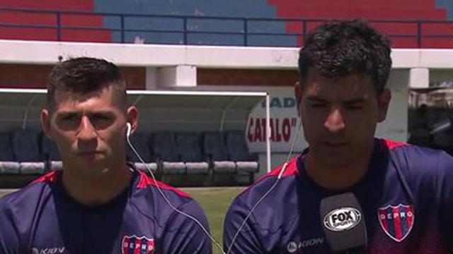 """""""Trataremos de disfrutar a full porque de eso se trata el fútbol"""", dijo Velente."""