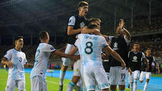 Argentina le ganó a Colombia y clasificó a los Juegos Olímpicos de Tokio.