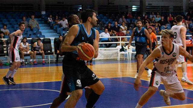 Como local, Echagüe volvió a ganar ante Rosario Basket.