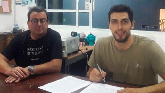 Sergio Rupil se suma a Echagüe en reemplazo de Emiliano Cancina.