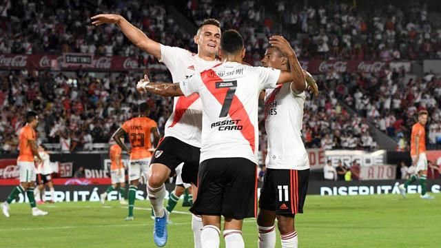 River le ganó 1-0 a Banfield con un gol de Suárez.