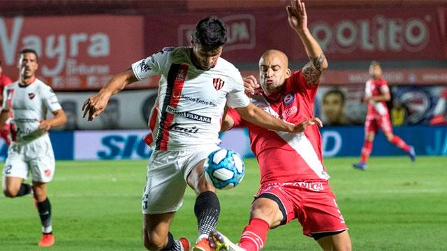 Superliga: Patronato tuvo chances para ganar pero sólo igualó ante Argentinos