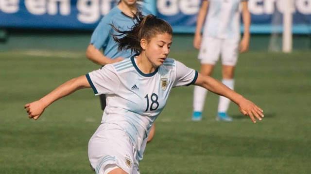 Loana Bernhard al Sudamericano Sub 20: La paranaense fue confirmada en la lista final de Argentina