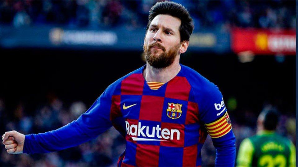 Messi hizo cuatro goles, tres de ellos de fantástica factura.