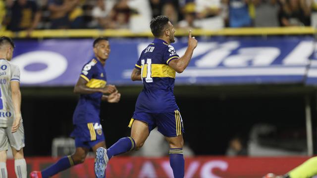 Boca derrotó a Godoy Cruz 3 a 0 y da pelea por el liderazgo en la Superliga