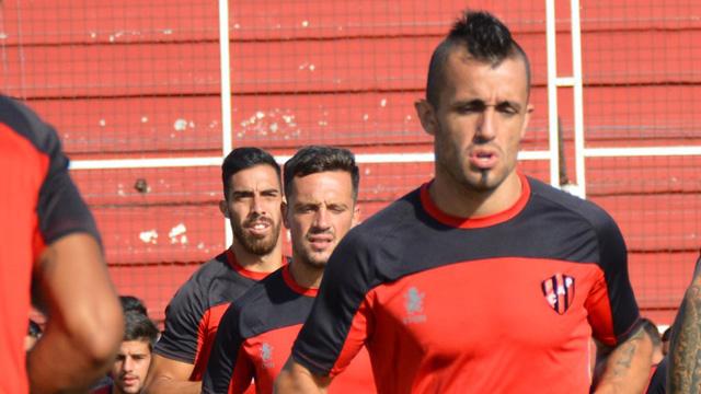 El Rojinegro se prepara para la Copa Argentina.