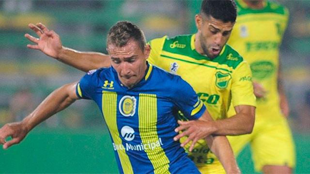 Defensa goleó a Rosario Central por la Superliga.