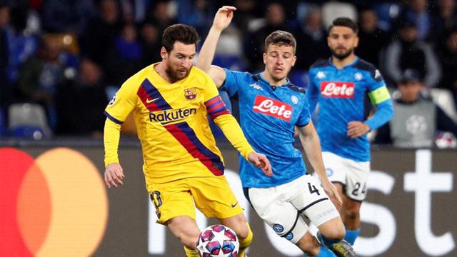Napoli y Barcelona igualaron 1 a 1 por la Champions League