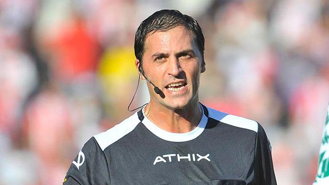 Mauro Vigliano estará a cargo del arbitraje de Patronato-Talleres de Córdoba.