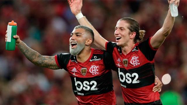 Flamengo se coronó campeón de la Recopa Sudamericana.