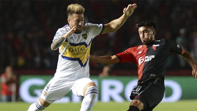Boca golea por 3 a 0 a Colón y se trepa a la cima de la la tabla de posiciones