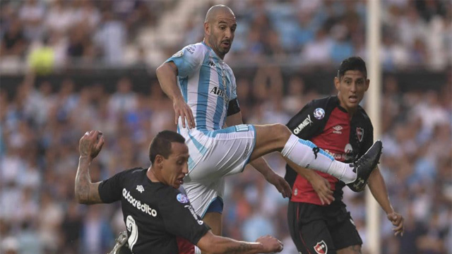 Racing y Newell's abrieron la fecha con un empate en Avellaneda