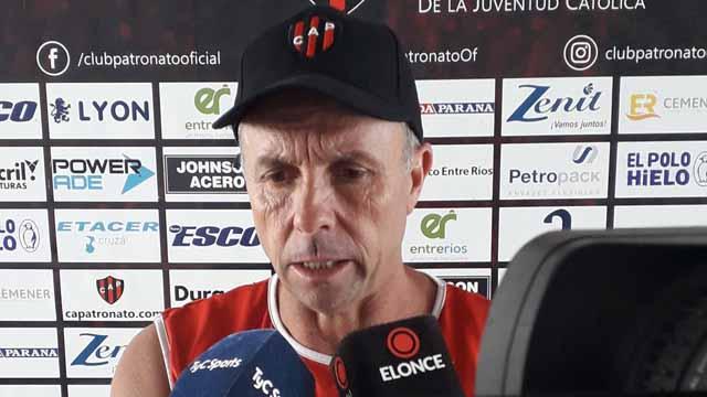 """""""El equipo es el mismo que jugó frente a Talleres"""", avisó el Dt del Rojinegro."""