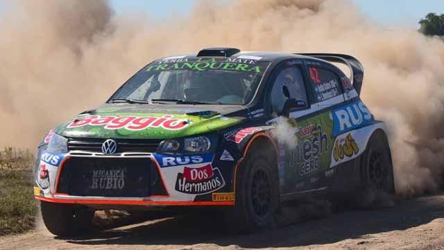 La piloto hizo el estreno en su nueva categoría del rally.