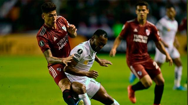Liga de Quito debe enfrentar a River por la revancha de la fase de grupos.