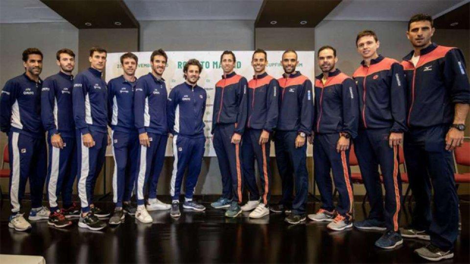 Argentina y Colombia abrirán la serie mañana de la Copa Davis en Bogotá.